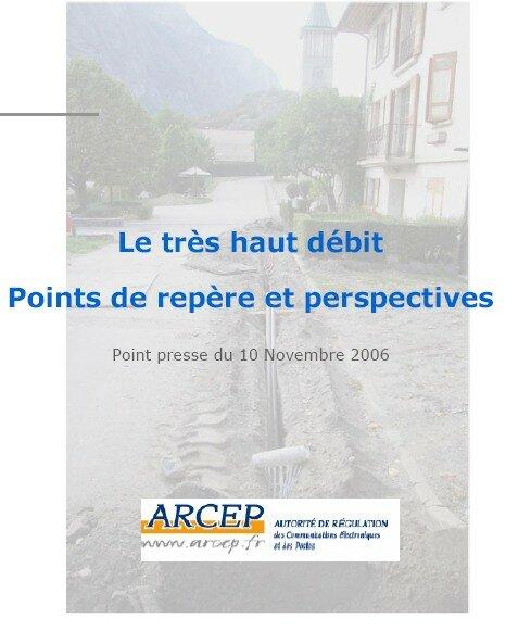 L'Autorité de Régulation des Communications électroniques et des Postes prends la Maurienne comme exemple !